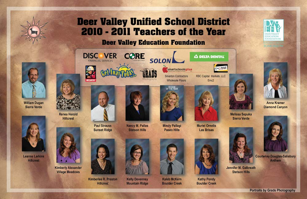 Poster of Teachers of the year 2011